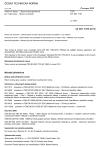 ČSN EN ISO 7783 Nátěrové hmoty - Stanovení propustnosti pro vodní páru - Misková metoda