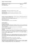 ČSN EN 13796-3 Bezpečnostní požadavky na osobní lanové dráhy - Vozy - Část 3: Zkoušení na únavu