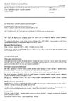 ČSN EN 13501-1 Požární klasifikace stavebních výrobků a konstrukcí staveb - Část 1: Klasifikace podle výsledků zkoušek reakce na oheň