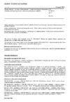 ČSN EN 50318 ed. 2 Drážní zařízení - Systémy odběru proudu - Ověřování simulace dynamické interakce mezi pantografovým sběračem a trolejovým vedením