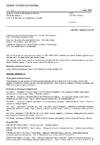 ČSN EN ISO 15630-2 Ocel pro výztuž a předpínání do betonu - Zkušební metody - Část 2: Svařované sítě a příhradové nosníky