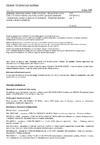 ČSN EN 50194-2 ed. 2 Elektrická zařízení pro detekci hořlavých plynů v obytných budovách - Část 2: Elektrická zařízení pro trvalý provoz v pevných instalacích v rekreačních vozidlech a podobných prostorech - Dodatečné zkušební metody a funkční požadavky