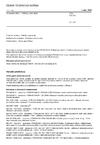 ČSN EN 343 Ochranné oděvy - Ochrana proti dešti