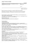 ČSN EN ISO 10273 Mikrobiologie potravinového řetězce - Horizontální metoda průkazu patogenních Yersinia enterocolitica