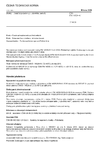 ČSN EN 14528 +A1 Bidety - Funkční požadavky a zkušební metody