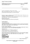 ČSN EN ISO 4022 Propustné spékané kovové materiály - Stanovení propustnosti tekutin
