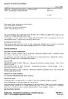ČSN ISO 8437-1 Sněhomety - Bezpečnostní požadavky a zkušební postupy - Část 1: Terminologie a společné zkoušky