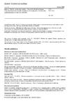 ČSN EN 17212 Krmiva: Metody vzorkování a analýz - Stanovení obsahu melaminu a kyseliny kyanurové metodou kapalinové chromatografie s hmotnostně spektrometrickou detekcí (LC-MS/MS)