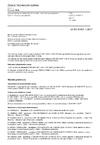 ČSN EN IEC 61851-1 ed. 3 Systém nabíjení elektrických vozidel vodivým propojením - Část 1: Obecné požadavky