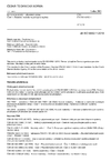 ČSN EN ISO 6892-1 Kovové materiály - Zkoušení tahem - Část 1: Zkušební metoda za pokojové teploty