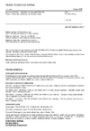ČSN EN ISO 6506-2 Kovové materiály - Zkouška tvrdosti podle Brinella - Část 2: Ověřování a kalibrace zkušebních strojů