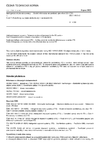 ČSN ISO 14813-5 Inteligentní dopravní systémy - Model referenční architektury pro obor ITS - Část 5: Požadavky na popis architektury v normách ITS