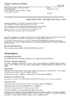 ČSN EN ISO 4259-1 +A1 Ropa a ropné výrobky - Preciznost metod a výsledků měření - Část 1: Stanovení preciznosti údajů ve vztahu ke zkušebním metodám