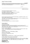 ČSN EN ISO 374-2 Ochranné rukavice proti nebezpečným chemikáliím a mikroorganismům - Část 2: Stanovení odolnosti proti penetraci