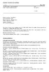 ČSN EN 12697-1 Asfaltové směsi - Zkušební metody - Část 1: Obsah rozpustného pojiva
