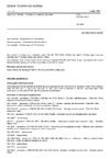 ČSN EN ISO 5912 Stany pro táboření - Požadavky a metody zkoušení