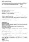 ČSN EN 12697-6 Asfaltové směsi - Zkušební metody - Část 6: Stanovení objemové hmotnosti asfaltového zkušebního tělesa