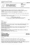 ČSN EN 12014-1 Potraviny - Stanovení obsahu dusičnanů a/nebo dusitanů - Část 1: Všeobecné požadavky