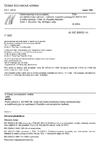 ČSN EN 60512-14-7 Elektromechanické součástky pro elektronická zařízení - Základní zkušební postupy a měřicí metody - Část 14: Zkoušky těsnosti - Oddíl 7: Zkouška 14g: Stříkající voda
