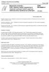 ČSN EN 60404-2 Magnetické materiály - Část 2: Metody měření magnetických vlastností ocelových tabulí a pásů pro elektrotechniku Epsteinovým přístrojem