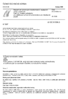 ČSN EN 61558-2-4 Bezpečnost výkonových transformátorů, napájecích zdrojů a podobně - Část 2-4: Zvláštní požadavky pro oddělovací ochranné transformátory pro všeobecné použití