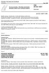 ČSN EN ISO 12687 Kovové povlaky - Zkoušky pórovitosti - Zkouška vlhkou sírou (sirným květem)