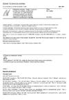ČSN EN 12068 Katodická ochrana - Vnější organické povlaky pro ochranu proti korozi v zemi nebo ve vodě uložených ocelových potrubí a používané za působení katodické ochrany - Páskové a smršťovací materiály