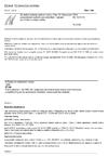 ČSN EN 1015-19 Zkušební metody malt pro zdivo - Část 19: Stanovení propustnosti vodních par zatvrdlými maltami pro vnitřní a vnější omítky