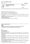 ČSN EN 10254 Ocelové zápustkové výkovky - Všeobecné technické dodací podmínky