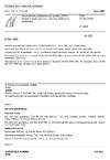ČSN EN ISO 8785 Geometrické požadavky na výrobky (GPS) - Nedokonalosti povrchu - Termíny, definice a parametry