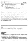 ČSN EN 1834-2 Pístové spalovací motory - Bezpečnostní požadavky na konstrukci a provedení motorů pro použití v prostředí s nebezpečím výbuchu - Část 2: Motory skupiny I pro použití v podmínkách práce pod zemí s možným výskytem důlního plynu a/nebo hořlavého prachu