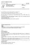 ČSN EN 10250-4 Ocelové výkovky volně kované pro všeobecné použití - Část 4: Korozivzdorné oceli