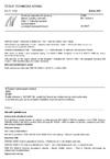 ČSN EN 10243-1 Ocelové zápustkové výkovky - Mezní úchylky rozměrů - Část 1: Výkovky kované na bucharech a svislých kovacích lisech