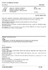 ČSN EN ISO 10695 Jakost vod - Stanovení vybraných sloučenin s organicky vázaným dusíkem a fosforem - Metody plynové chromatografie