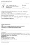 ČSN ISO 10816-5 Vibrace - Hodnocení vibrací strojů na základě měření na nerotujících částech - Část 5: Soustrojí ve vodních elektrárnách a čerpacích stanicích