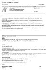 ČSN EN 12310-2 Hydroizolační pásy a fólie - Stanovení odolnosti proti protrhávání - Část 2: Plastové a pryžové pásy a fólie pro hydroizolaci střech