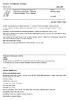 ČSN EN ISO 13920 Svařování - Všeobecné tolerance svařovaných konstrukcí - Délkové a úhlové rozměry - Tvar a poloha