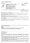 ČSN EN 60317-0-6 Specifikace jednotlivých typů vodičů pro vinutí - Část 0-6: Všeobecné požadavky - Měděný vodič kruhového průřezu, holý nebo lakovaný, ovinutý skleněným vláknem, impregnovaný pryskyřicí nebo lakem