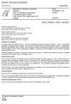 ČSN EN 60684-3-100 až 105 Specifikace ohebných izolačních trubiček - Část 3: Specifikace požadavků na jednotlivé typy trubiček - Listy 100 až 105: Vytlačované PVC trubičky