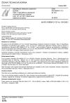 ČSN EN 60684-3-121 až 124 Specifikace ohebných izolačních trubiček - Část 3: Specifikace požadavků na jednotlivé typy trubiček - Listy 121 až 124: Vytlačované silikonové trubičky