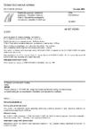 ČSN EN 60243-3 Elektrická pevnost izolačních materiálů - Zkušební metody - Část 3: Dodatečné požadavky na impulzní zkoušky (1,2/50 us)