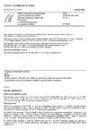 ČSN ETSI EN 300 386 V1.3.1 Elektromagnetická kompatibilita a rádiové spektrum (ERM) - Zařízení telekomunikační sítě - Požadavky na elektromagnetickou kompatibilitu (EMC)