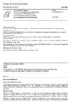 ČSN EN 50290-2-27 Komunikační kabely - Část 2-27: Společná pravidla návrhu a konstrukce - Bezhalogenové termoplastické směsi pro pláště se zpomaleným šířením plamene