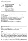 ČSN ETSI EN 301 908-3 V1.1.1 Elektromagnetická kompatibilita a rádiové spektrum (ERM) - Základnové stanice (BS) a uživatelská zařízení (UE) buňkových sítí IMT-2000 třetí generace - Část 3: Harmonizovaná EN pokrývající základní požadavky článku 3.2 Směrnice R&TTE na IMT-2000, CDMA s přímým rozprostřením (UTRA FDD) (BS)