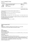 ČSN EN 60702-2 Kabely s minerální izolací a jejich koncovky pro jmenovitá napětí do 750 V - Část 2: Koncovky