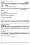 ČSN EN 60684-3-320 Ohebné izolační trubičky - Část 3: Specifikace jednotlivých typů trubiček - List 320: Polyethylentereftalátové textilní trubičky, lehce impregnované