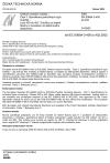 ČSN EN 60684-3-400 až 402 Ohebné izolační trubičky - Část 3: Specifikace jednotlivých typů trubiček - Listy 400 až 402: Trubičky ze skelné tkaniny s povlakem ze silikonového elastomeru