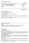 ČSN EN 60335-1 ed. 2 Elektrické spotřebiče pro domácnost a podobné účely - Bezpečnost - Část 1: Všeobecné požadavky