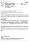 ČSN ISO/TS 10303-304 Automatizované průmyslové systémy a integrace - Prezentace dat o výrobku a jejich výměna - Část 304: Soubory abstraktních testů: Mechanický návrh využívající hraniční zobrazení