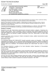ČSN ISO 10303-34 Automatizované průmyslové systémy a integrace - Prezentace dat o výrobku a jejich výměna - Část 34: Metodika a rámec pro testování shody: Metody abstraktních testů pro implementaci aplikačního protokolu